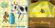 Curious Baby: My First Words at the Farm Gift Set (Curious George Book & Hat)  -              By: H.A. Rey