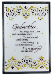 Godmother Mirror Plaque  -