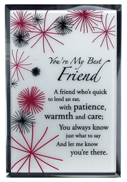 You're My Best Friend Mirror Plaque  -