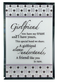 Girlfriend Mirror Plaque  -