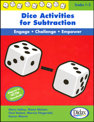 Dice Activities for Subtraction; Grades 1-3   -     By: Mary Saltus