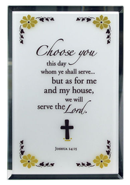 Joshua 24:15 Mirror Plaque  -