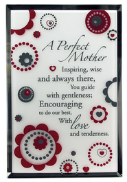 Perfect Mother Mirror Plaque  -