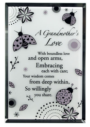 Grandmother Mirror Plaque  -