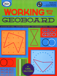 Working with the Geoboard with CD-Rom, Grades 5-8   -              By: Carl Seltzer