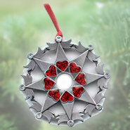 Snowflake Ornament, Angels  -