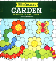 Hidden Images: Garden, The Ultimate Coloring Experience  -     By: Roger Burrows