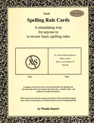 Spelling Rule Cards   -     By: Wanda Sanseri