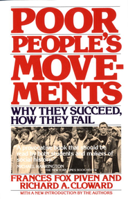 Poor People's Movements: Why They Succeed, How They Fail - eBook  -     By: Frances Fox Piven, Richard Cloward