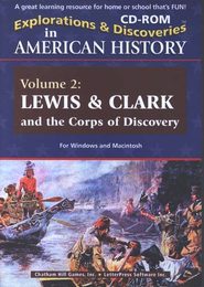 Explorations & Discoveries CDROM: Lewis and Clark    -