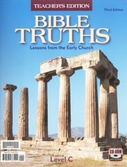 BJU Bible Truths Level C Teacher's Edition with CD-ROM (Grade 9) Third Edition  -