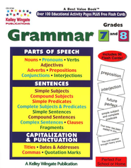 Grammar, Grades 7 and 8  -     By: Vicki Sullivan