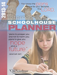 2013-14 Intermediate Schoolhouse Planner - PDF Download  [Download] -     By: The Old Schoolhouse
