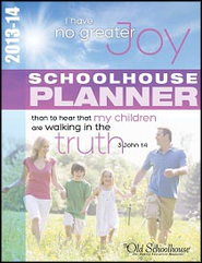2013-14 Schoolhouse Planner  [Download] -     By: The Old Schoolhouse