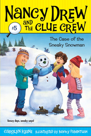 Case of the Sneaky Snowman - eBook  -     By: Carolyn Keene