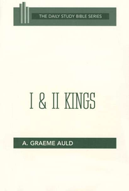 1 & 2 Kings: New Daily Study Bible [NDSB]   -     By: A. Graeme Auld