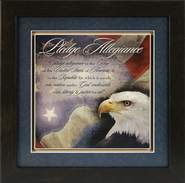 Pledge of Allegiance Framed Print  -