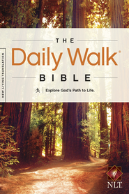 The Daily Walk Bible NLT - eBook  -