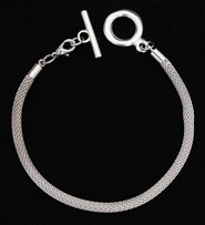Mesh Chain Bracelet for Add-A-Charms  -