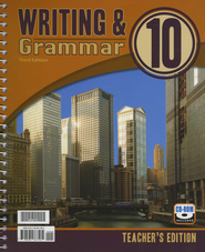 BJU Writing & Grammar Grade 10 Teacher's Edition with CD-ROM (Third Edition)  -