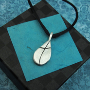 Water of Life Pewter Necklace   -