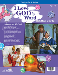I Love God's Word Beginner (ages 4 & 5) Bible Stories, Revised Edition  -
