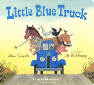 Little Blue Truck Board Book  -     By: Alice Schertle