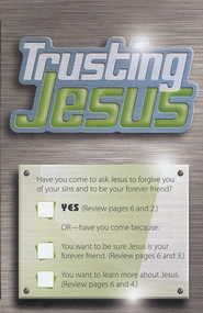 Trusting Jesus - Pack of 25 Tracts   -              By: Tracts