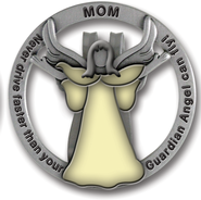 Mom Visor Clip, Glow-In-the- Dark  -