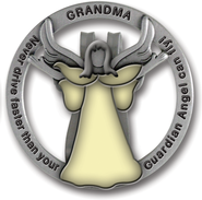Grandma Visor Clip, Glow-In-the- Dark  -