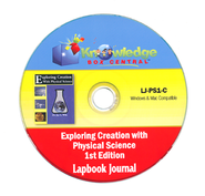 Apologia Exploring Creation With Physical Science 1st Edition Lapbook Journal CD-Rom  -