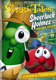 Sheerluck Holmes and the Golden Ruler, VeggieTales DVD   -