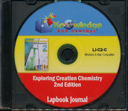 Apologia Exploring Creation With Chemistry 2nd Edition Lapbook Journal CD-Rom  -