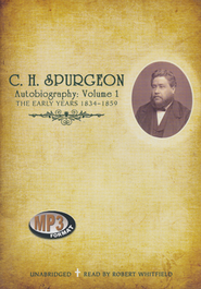 C.H. Spurgeon's Autobiography Unabridged Audiobook on MP3-CD  -     By: Charles H. Spurgeon