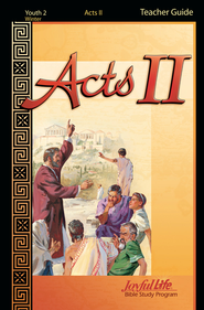 Acts II Youth 2 (Grades 10-12) Teacher Guide   -