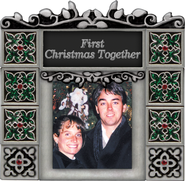 First Christmas Together Photo Frame  -