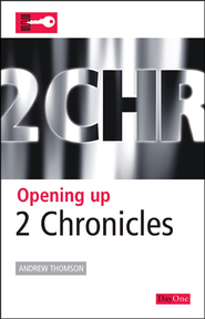 Opening Up 2 Chronicles  -     By: Andrew Thompson