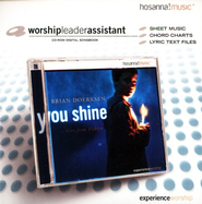 You Shine, CD-ROM Digital Songbook (Worship Leader Assistant)   -              By: Brian Doerksen