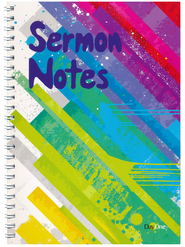 Sermon Notes, Stripy  -              By: Tirzah L. Jones