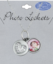 Heart Photo Locket  -