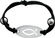 Ichthus Stretch Bracelet  -