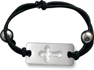Cross Stretch Bracelet   -