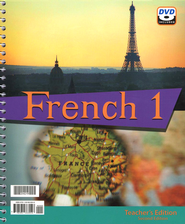 BJU French 1 Teacher's Edition with DVD (Second Edition)    -