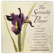 The Serenity Prayer Ceramic Tile  -