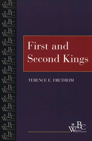 First and Second Kings Westminster Bible Companion   -              By: Terence E. Fretheim