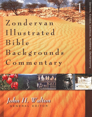 Zondervan Illustrated Bible Backgrounds Commentary, Vol. 1 Genesis, Exodus, Leviticus, Numbers, and Deuteronomy  -     By: John H. Walton, David W. Baker, Daniel I. Block