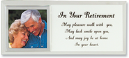 In Your Retirement Photo Mirror Plaque  -
