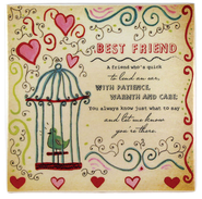 You're My Best Friend Ceramic Tile  -