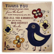 Thank You Ceramic Tile  -