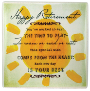 Retirement Ceramic Tile  -